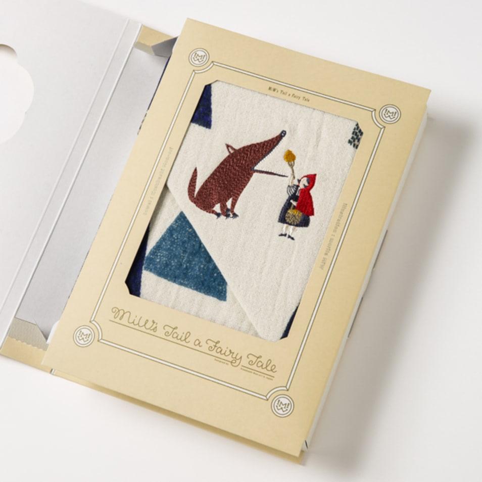 オオカミと赤ずきんの話(GIFT BOOK)/フェイスタオル
