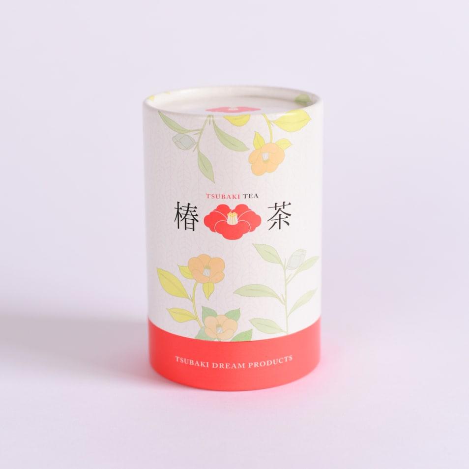 椿茶 茶筒ティーバッグ