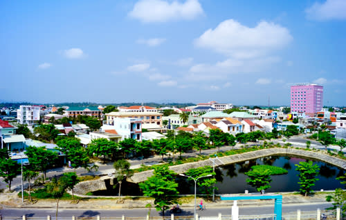 dat ve may bay di quang nam