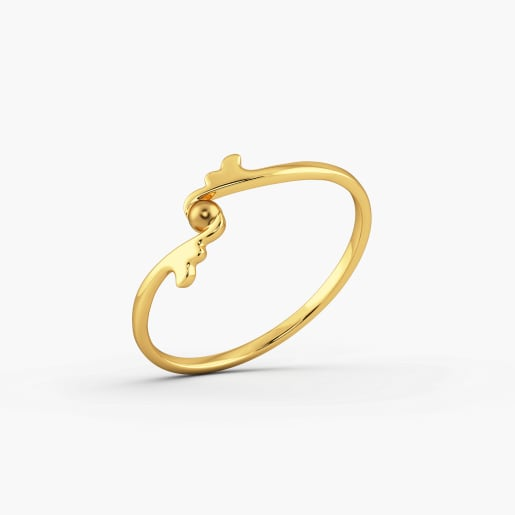 The Bold Dot Ring For Her