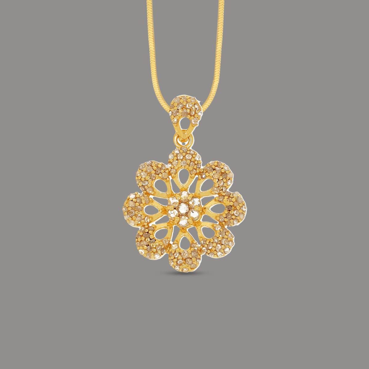 Bariki Traditional Un-cut Diamond Pendant