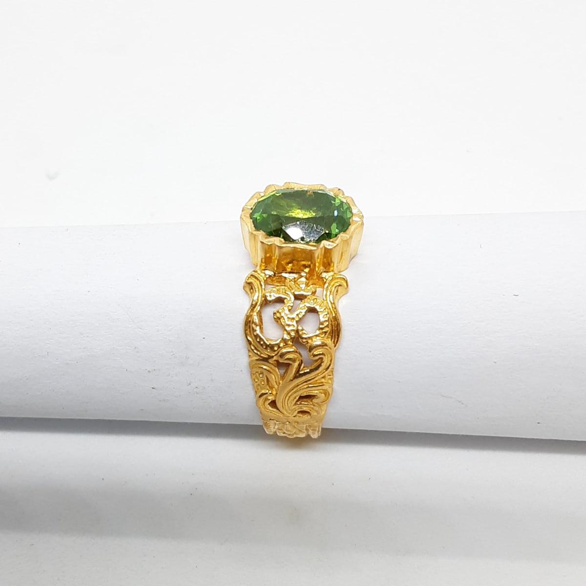 Fancy Single Stone Ring