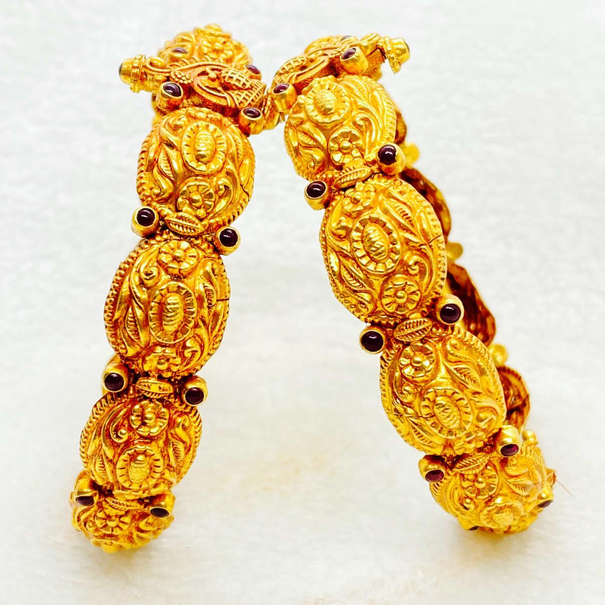Fancy Antique Kada Bangles Gj0216
