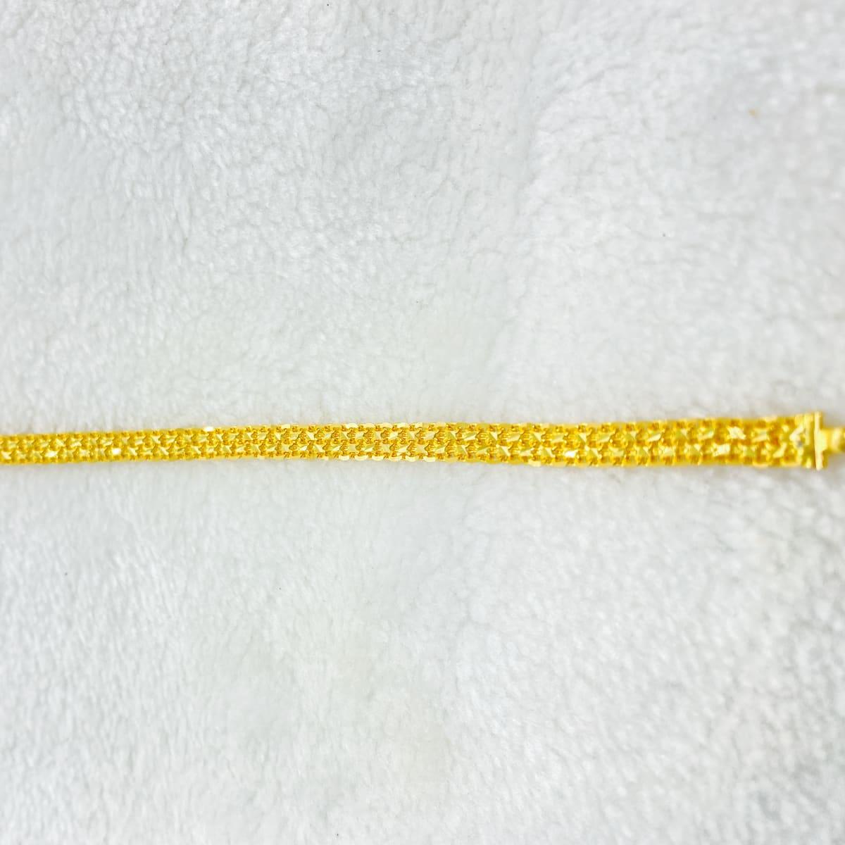 Fancy Delhi Chain Gents Bracelet Gj0106