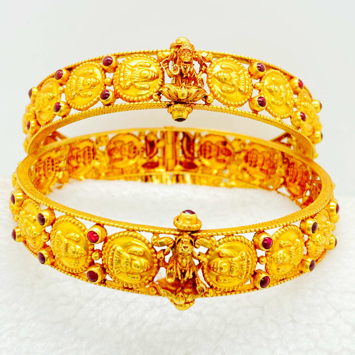 Fancy Lakshmi Design Kada Bangles Gj215