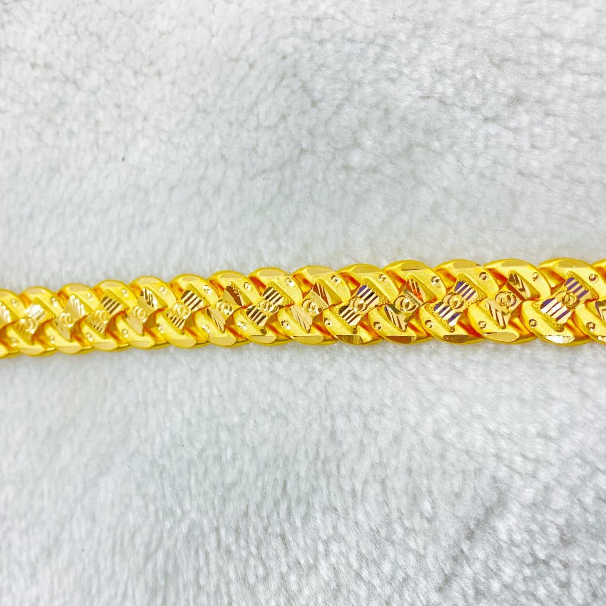 Fancy Gents S Bracelet Gj0100