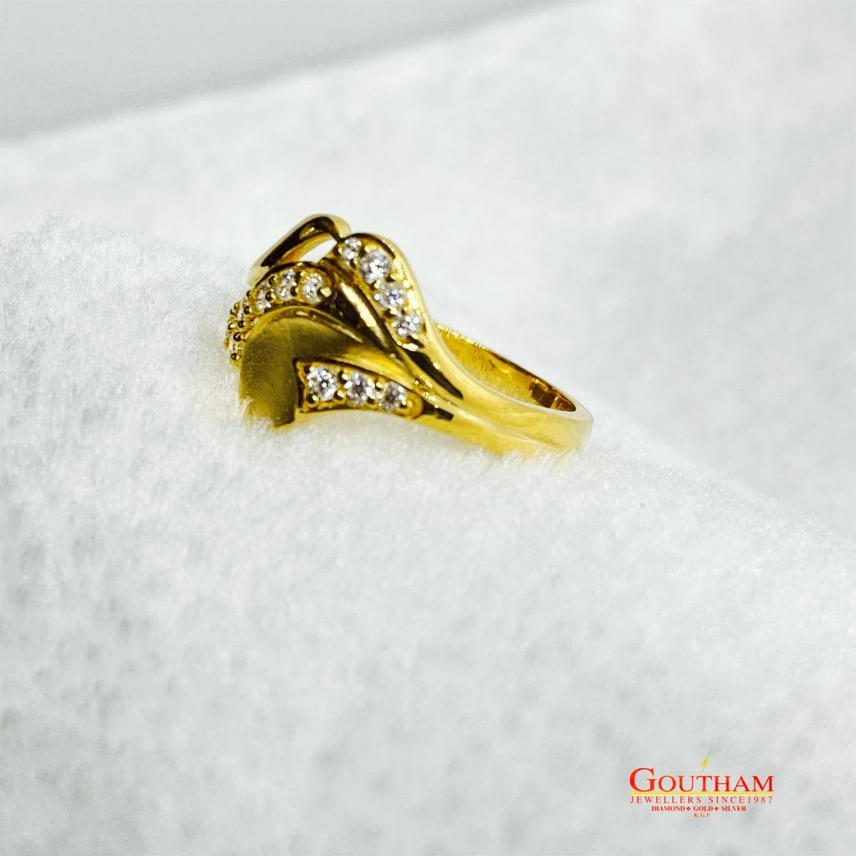Fancy Cz Stone Ring Gj0245