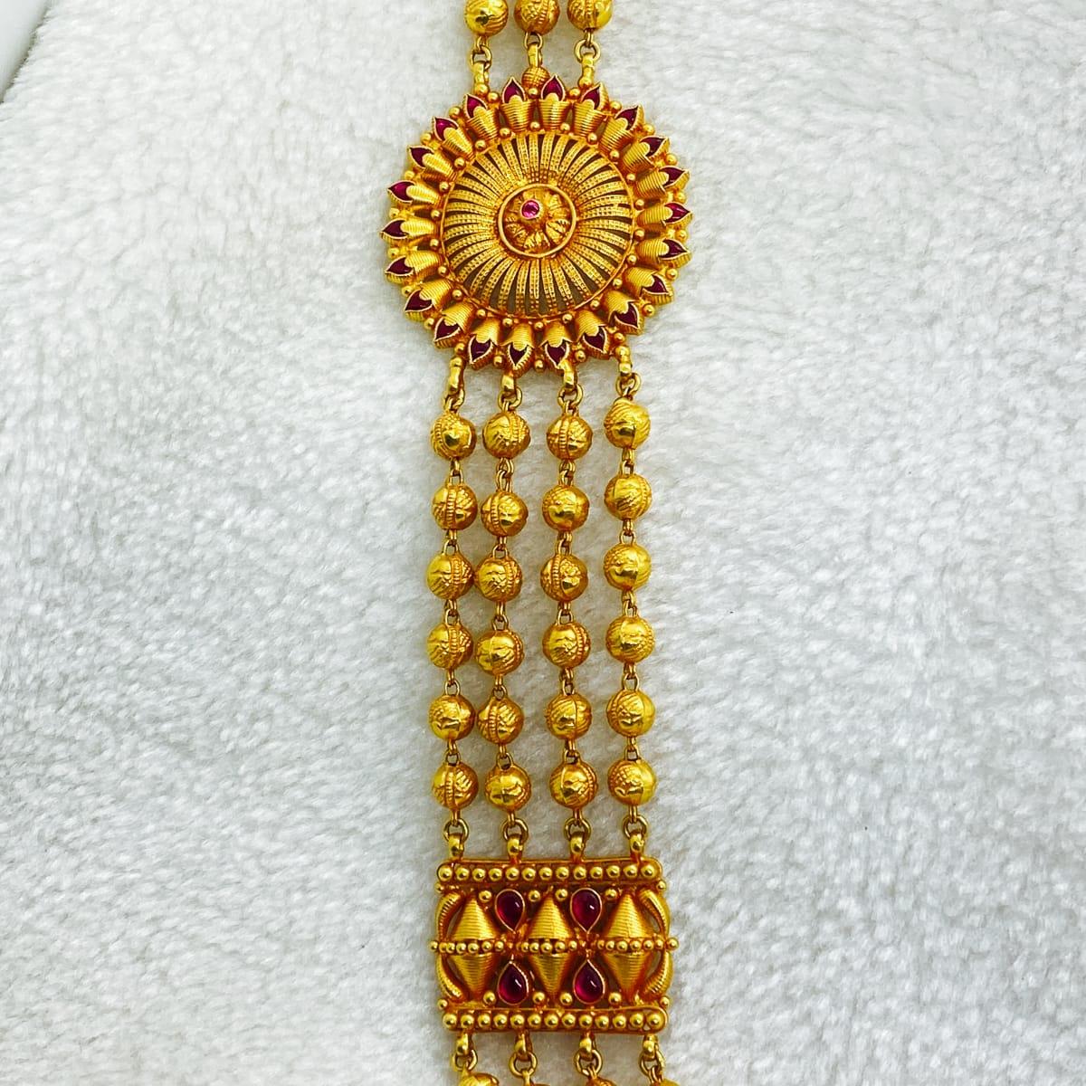 Fancy Rani Haaram With Side Muguapu Gj0187