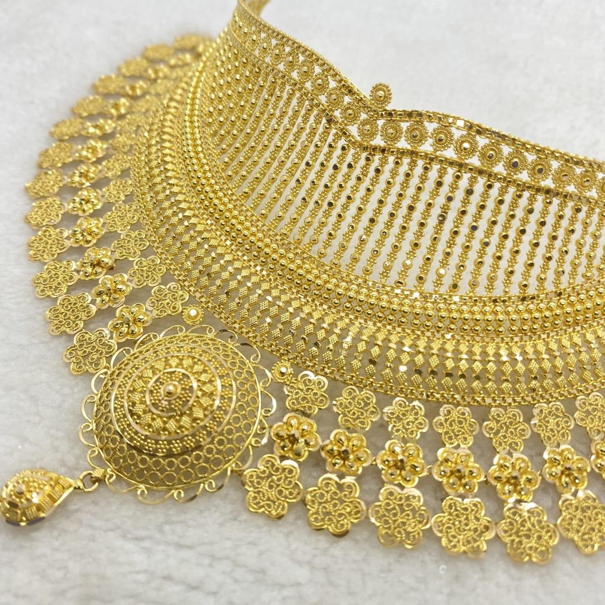 Fancy Designer Calcutta Choker Gj0155