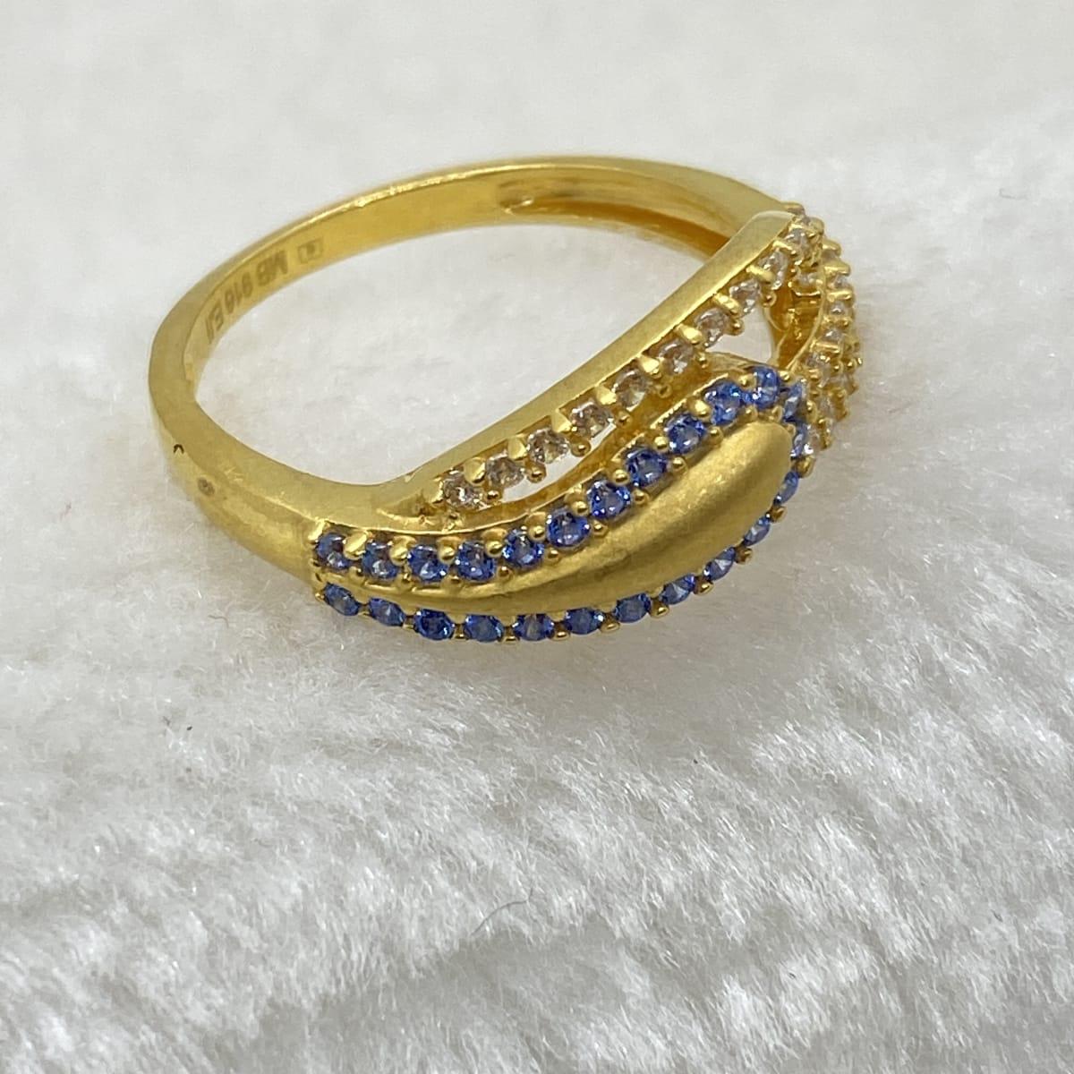 Fancy Ladies Casting Cz Ring Gj0139