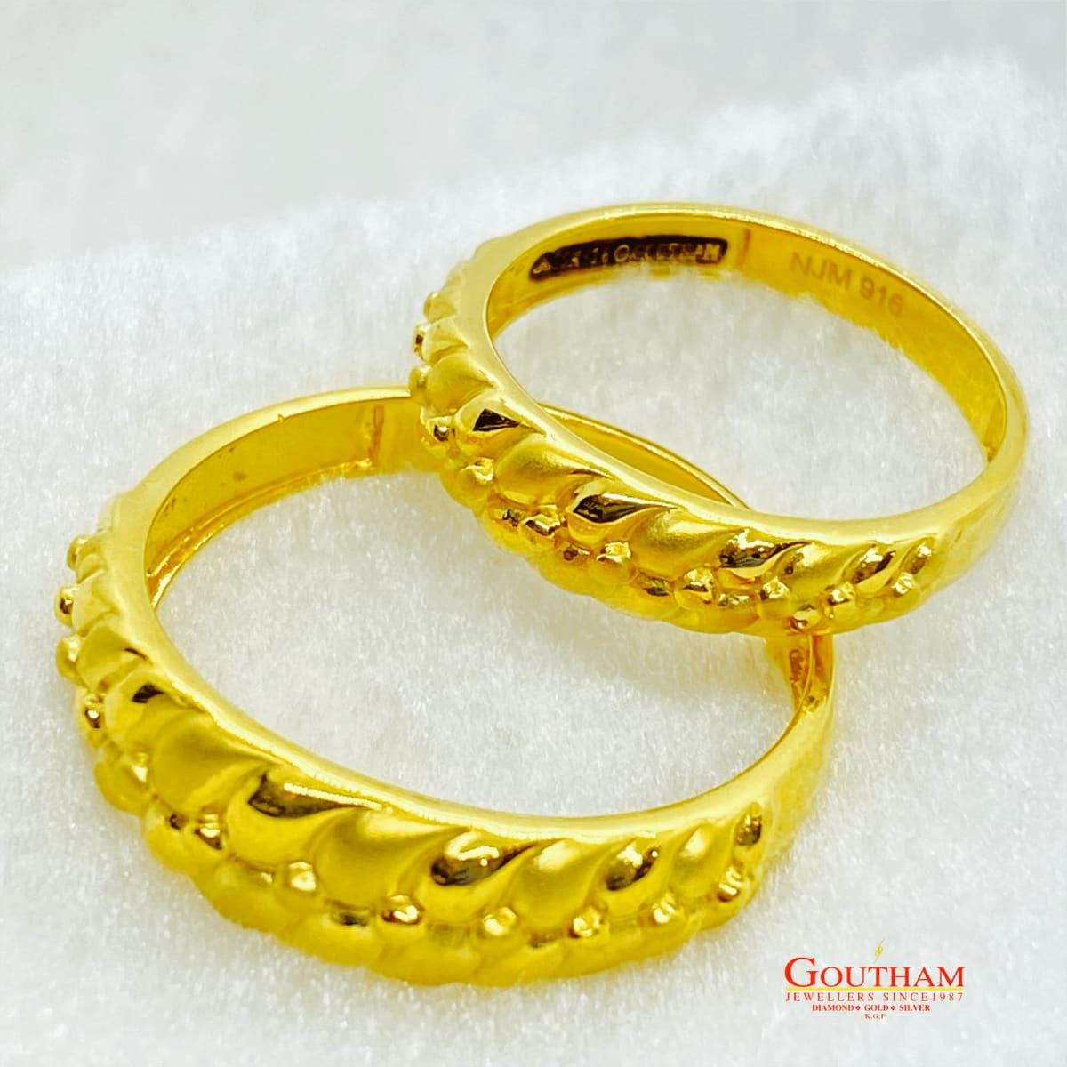 Fancy Casting Couple Ring Gj0249