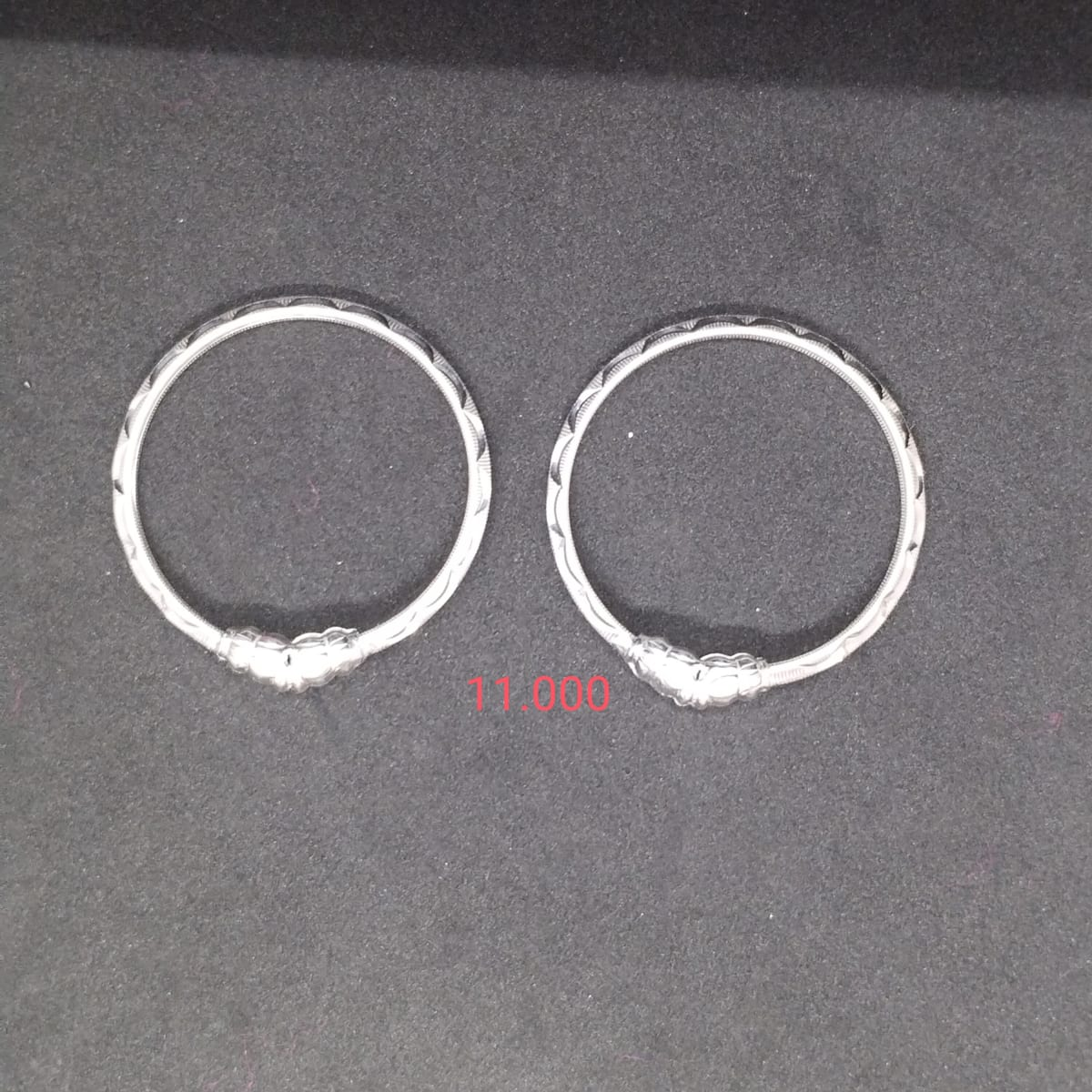 Silver Bangles  For Kids