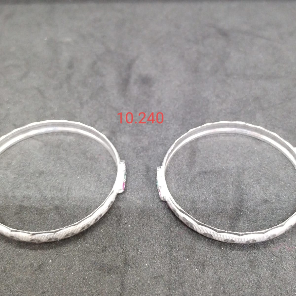 Silver Bangles For Kids 2