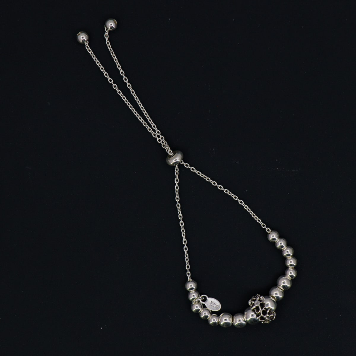 925 Silver Jasmine Braclet