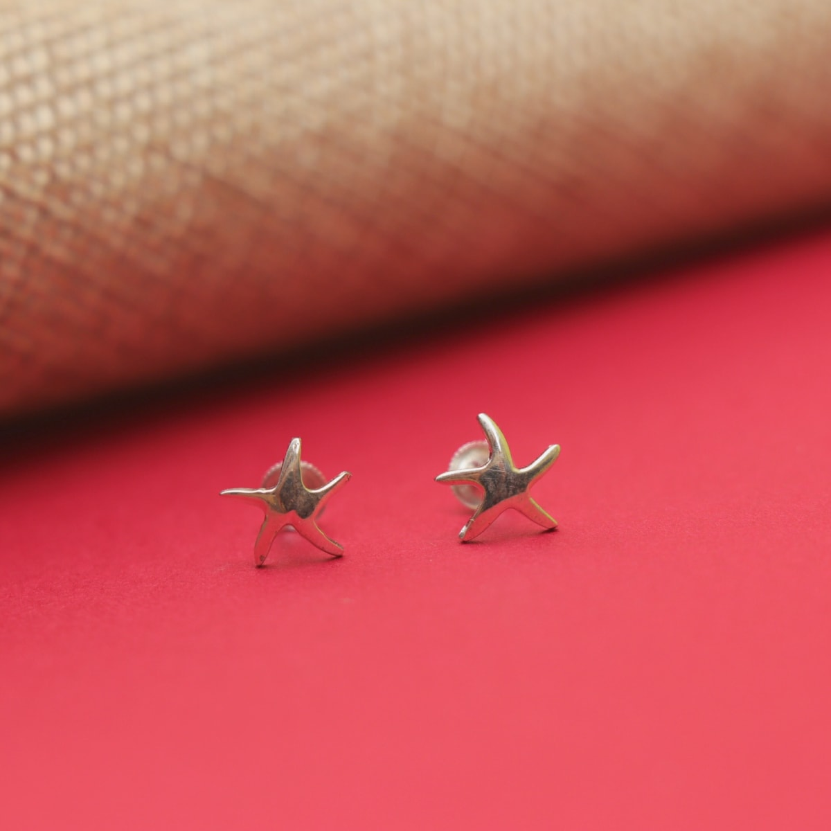925 Silver Star Studs
