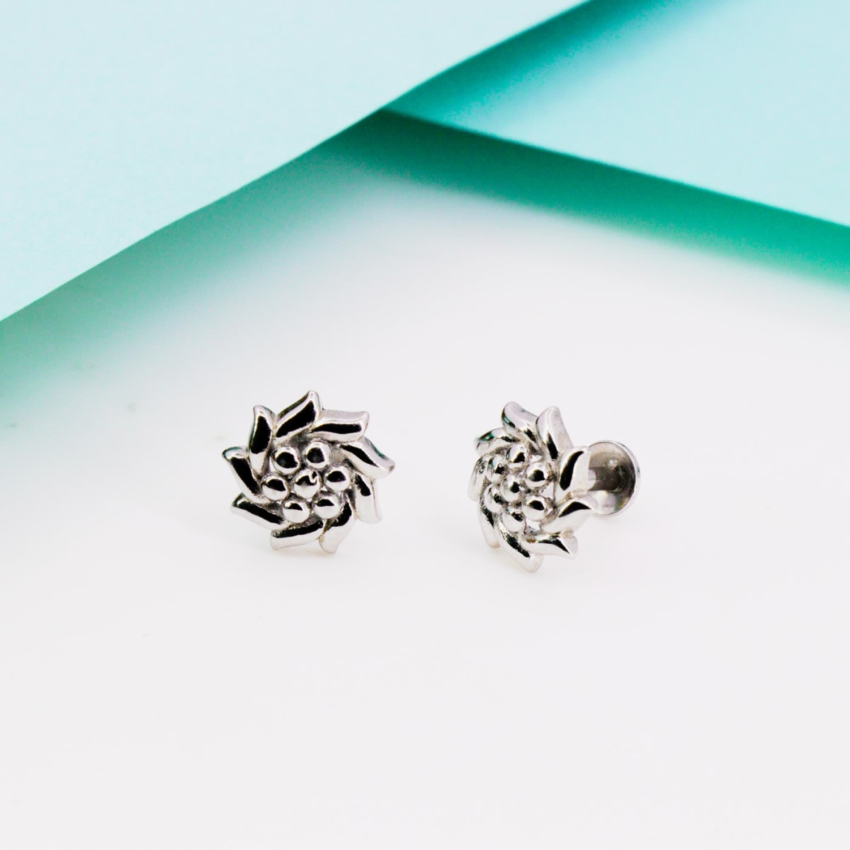 Silver Bloom Studs 925 Silver