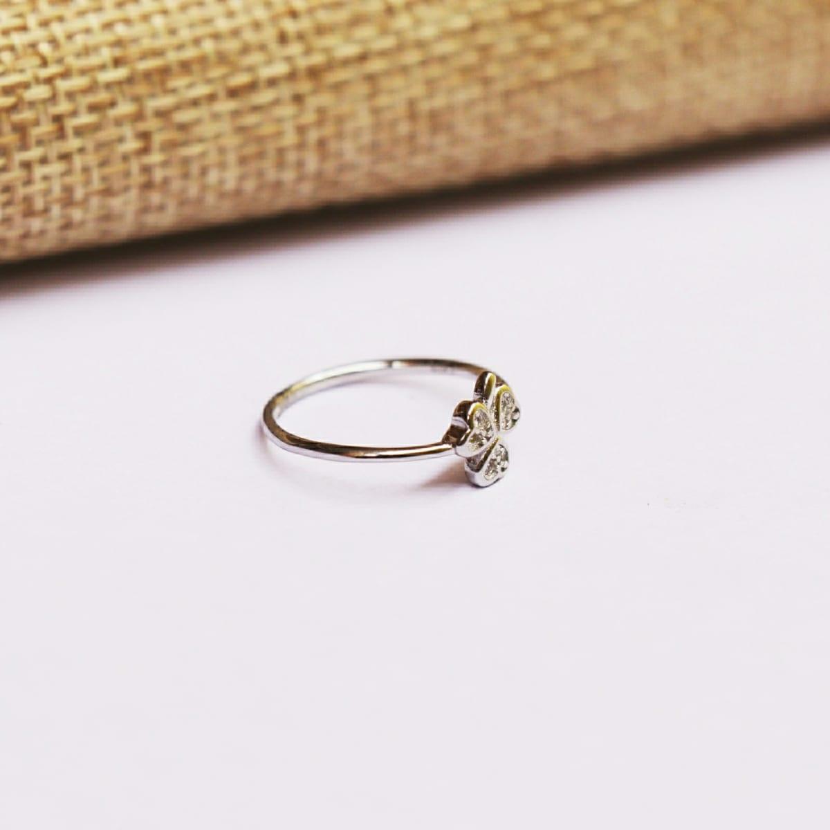 925 Silver Triple Heart  Ring