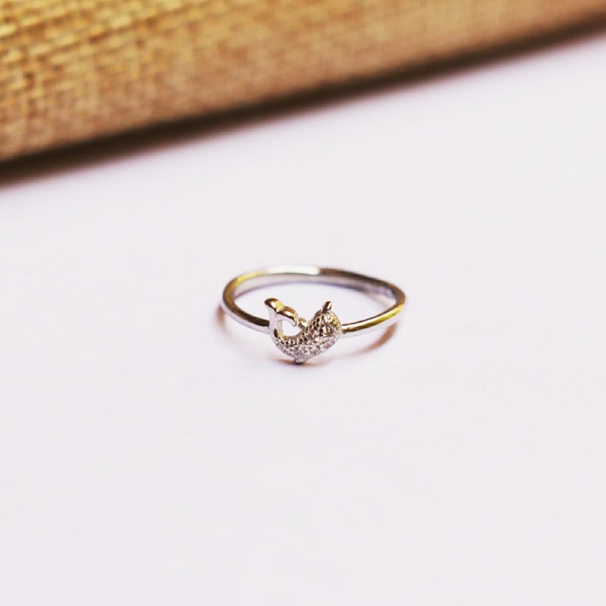 925 Silver Fish  Ring