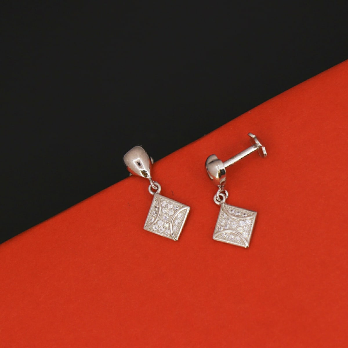 925 Silver Prisha Danglers
