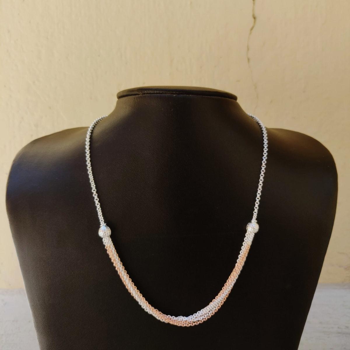 925 Silver Isha Chain