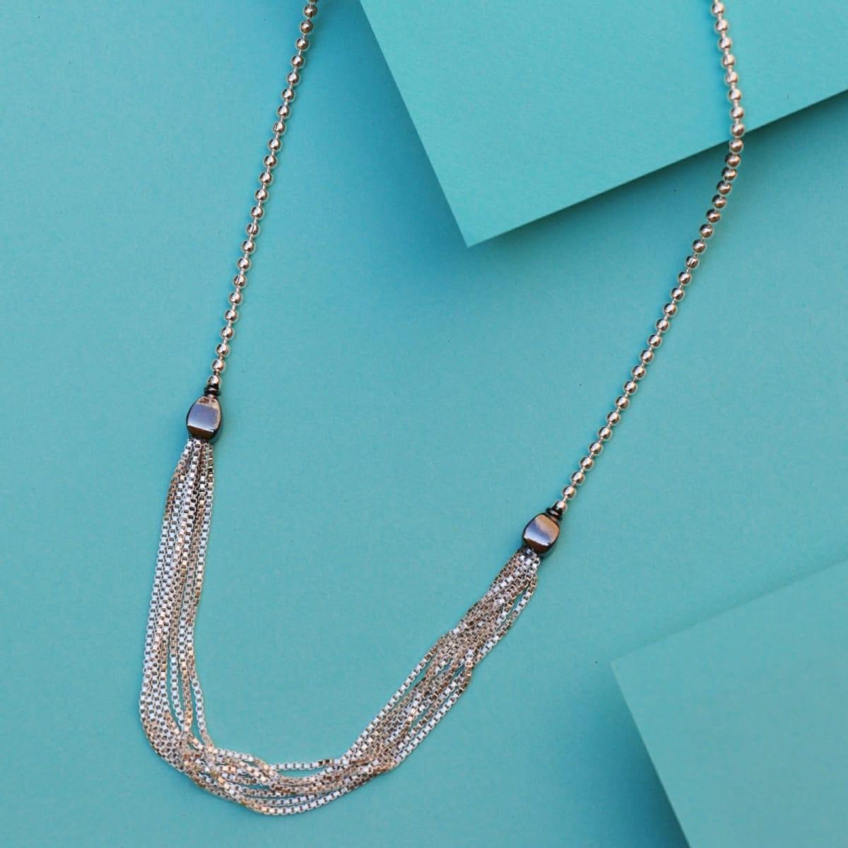 925 Silver Jasmine Chain