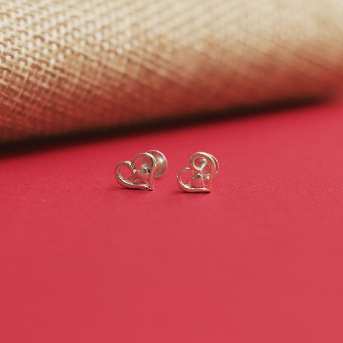 925 Silver Chaaya Studs