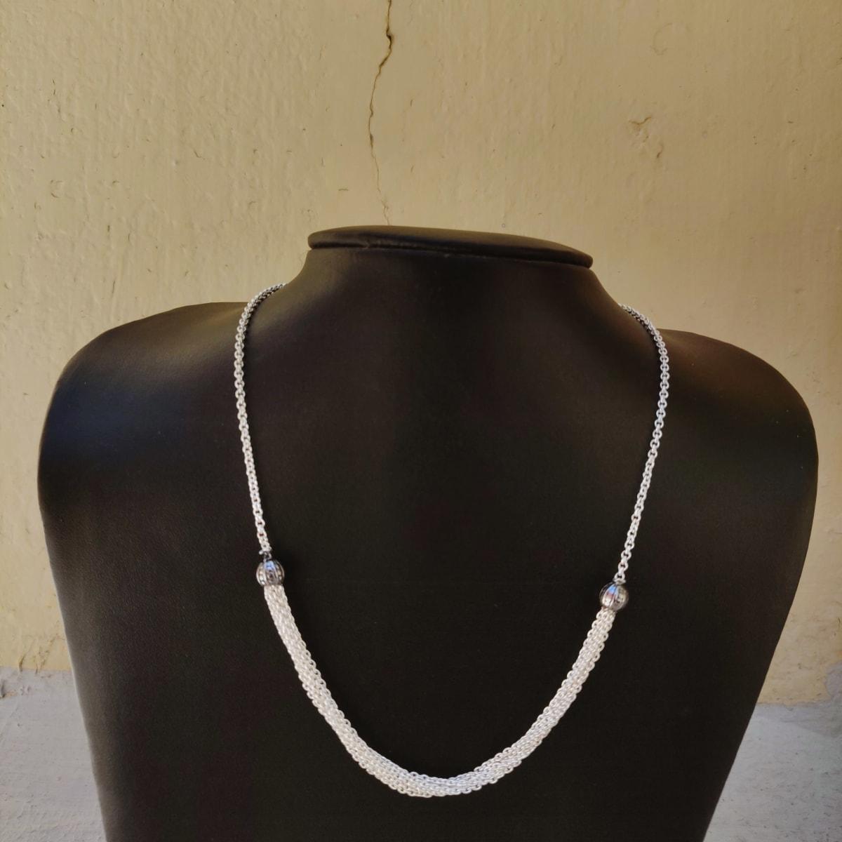 925 Silver Jaana Chain