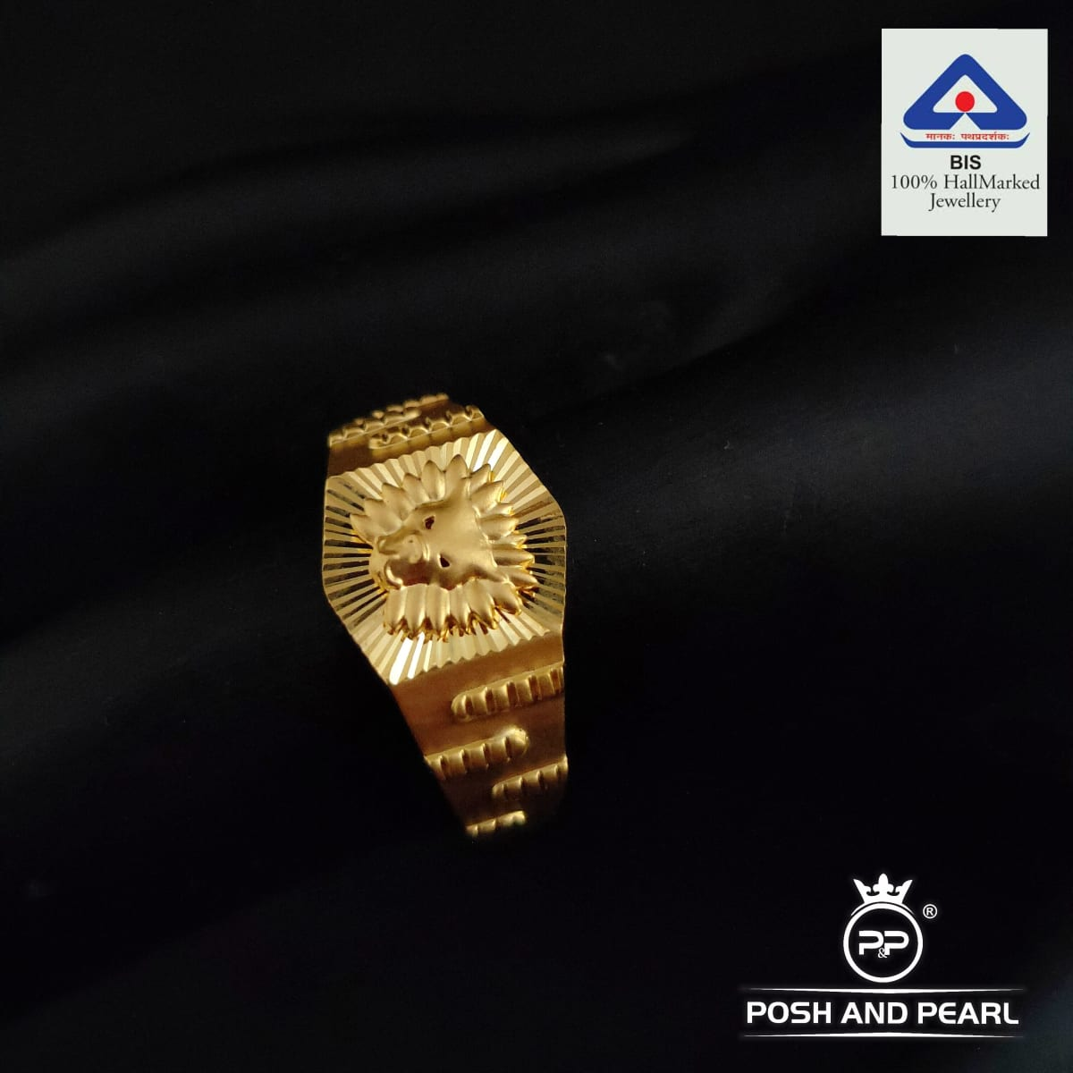Classic Lion Ring Pp0452