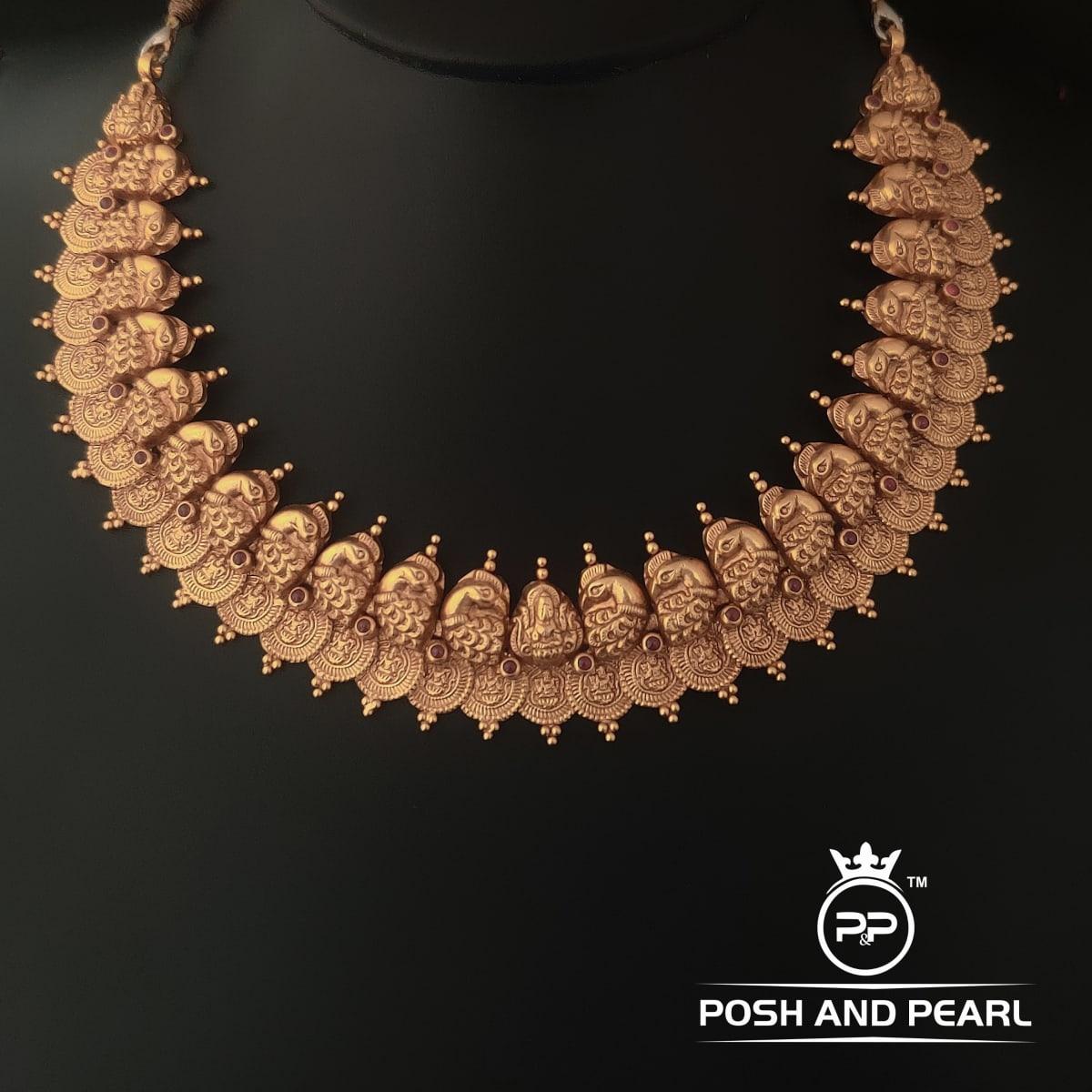 Laxmi Coin Necklace Pp0398
