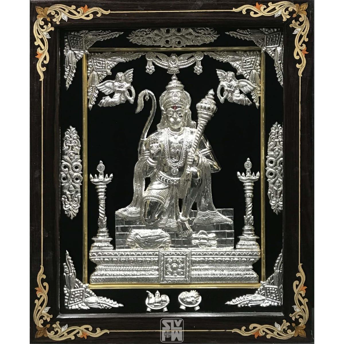 Sitting Hanuman 18x22