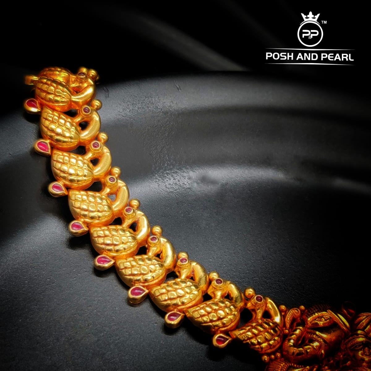 Laxmi Peacock Necklace Pp0201