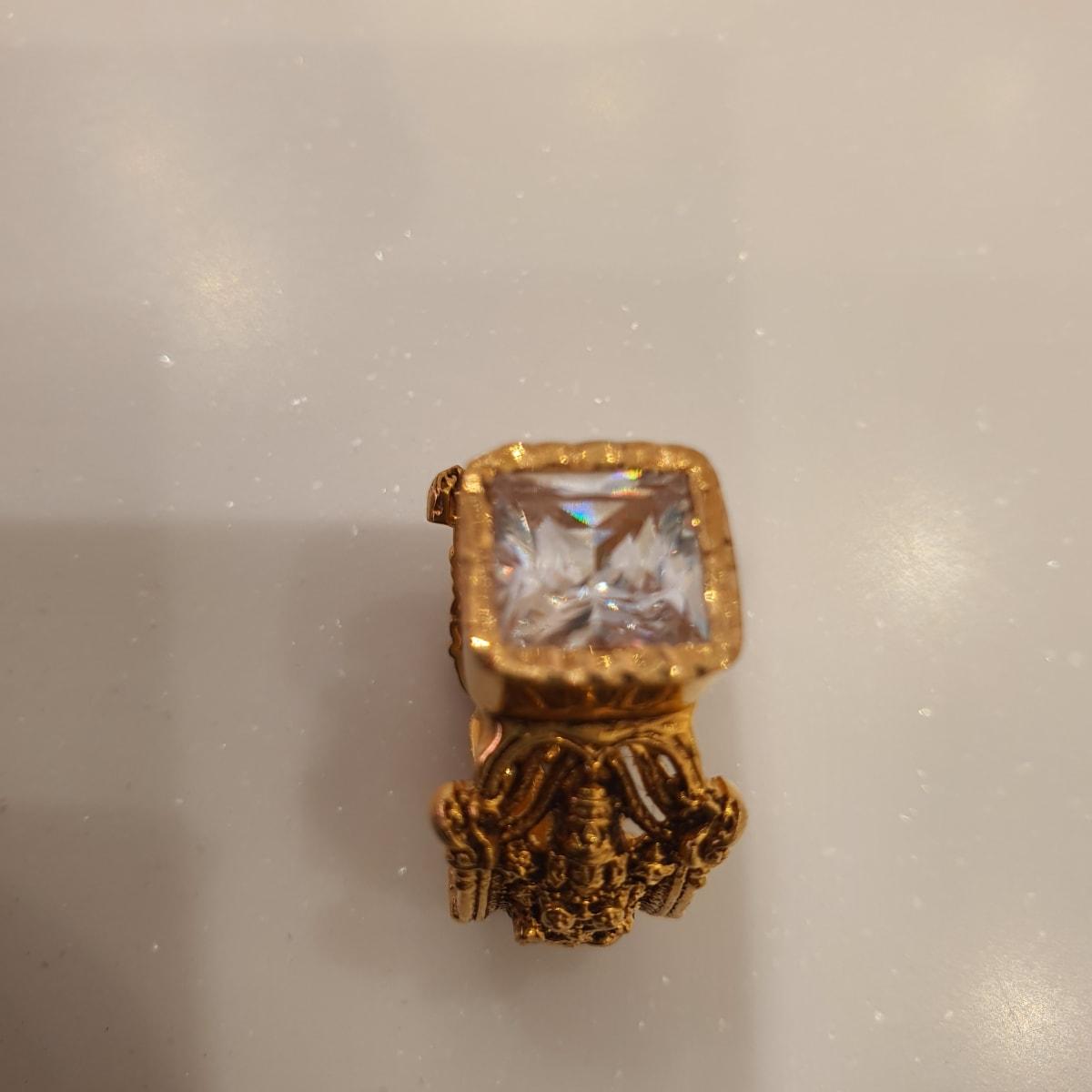 Antique Bhalaji Ring