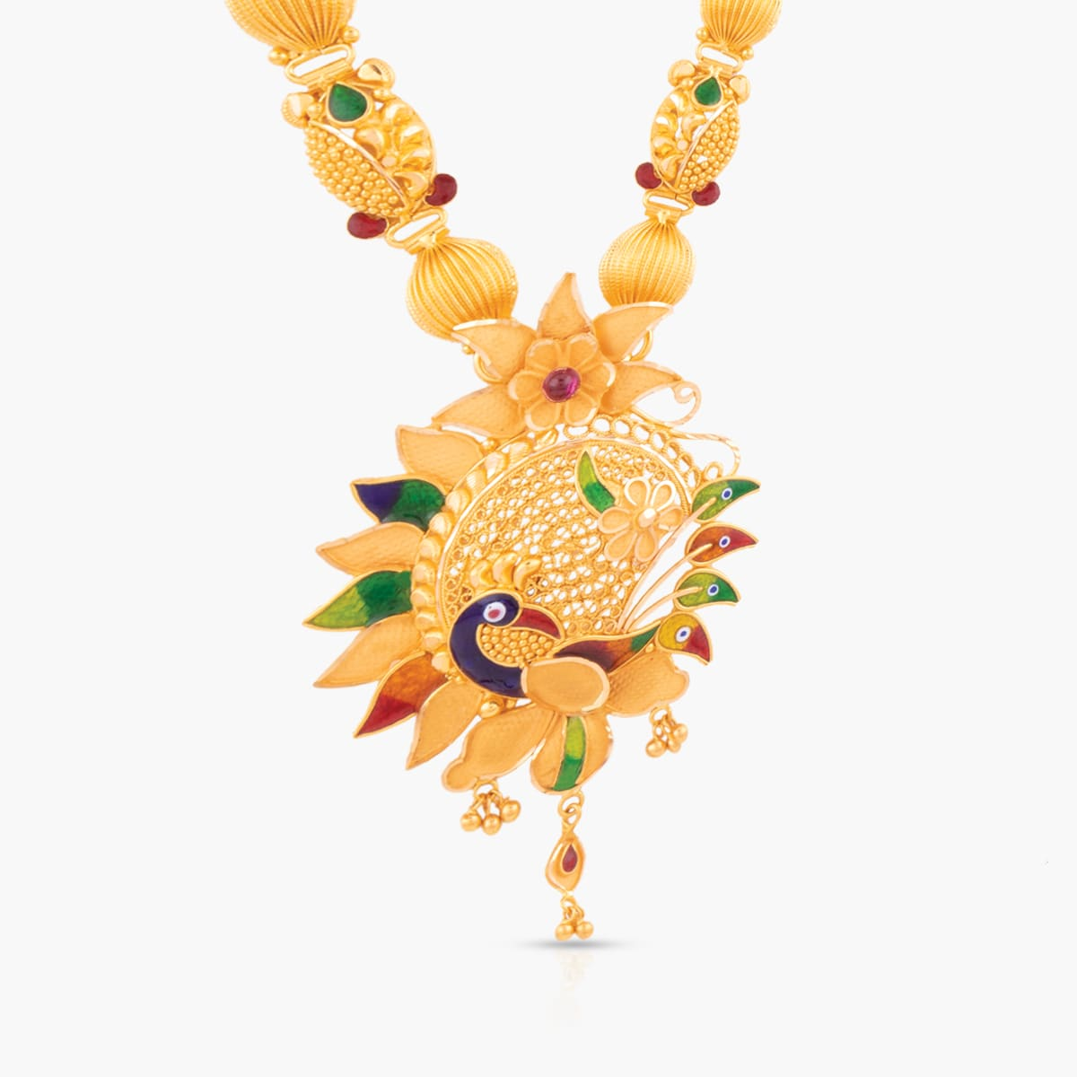 Peacock Traditional Necklaces