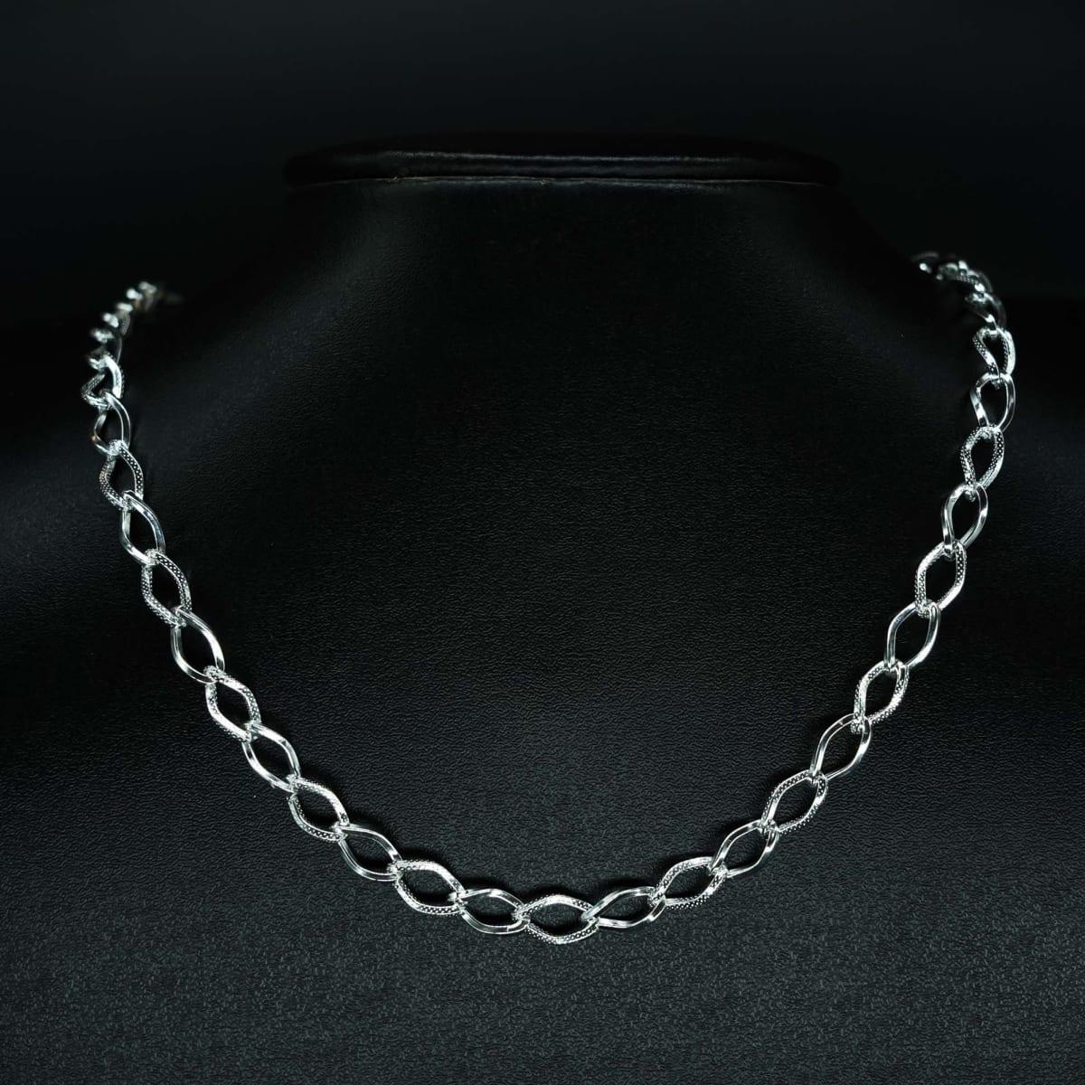 925 Silver The Zircon Linkage