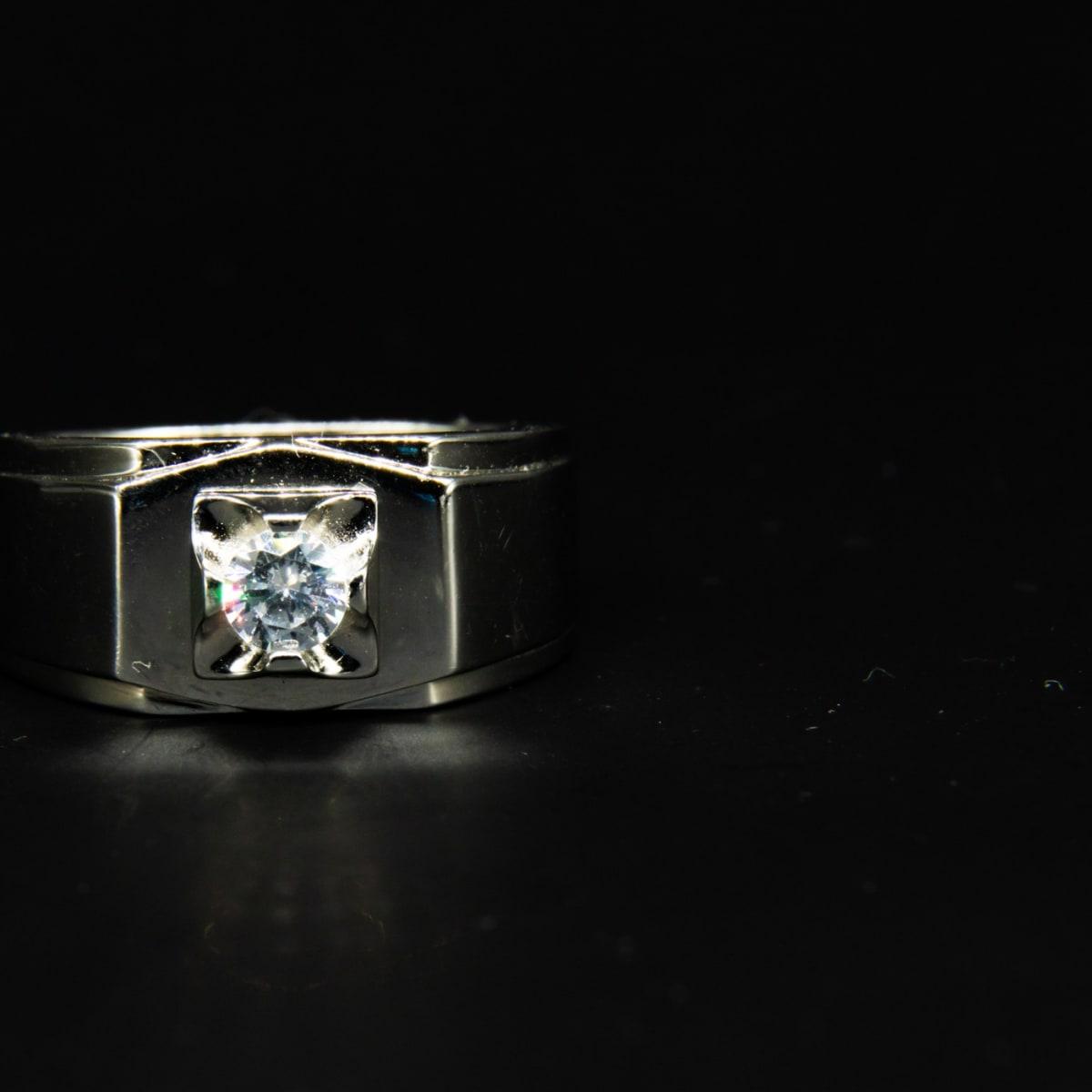 925 Silver Silver Royalty Ring