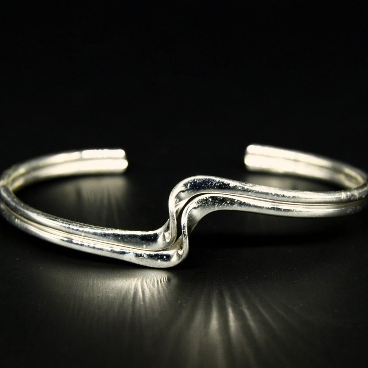925 Silver Luster Kada