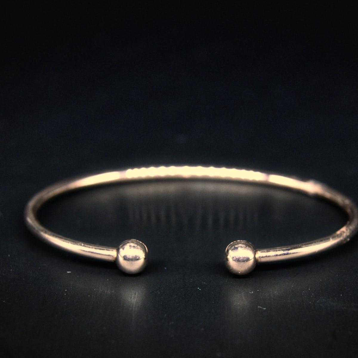 925 Silver Rose-gold Kada
