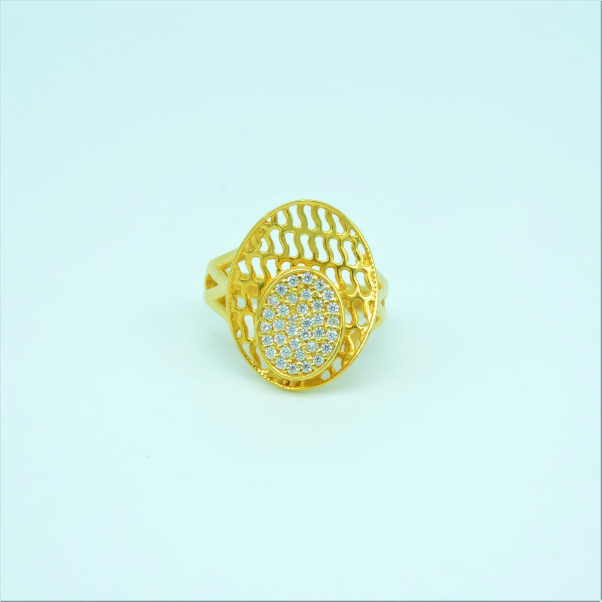 Party Wear Gold Ring