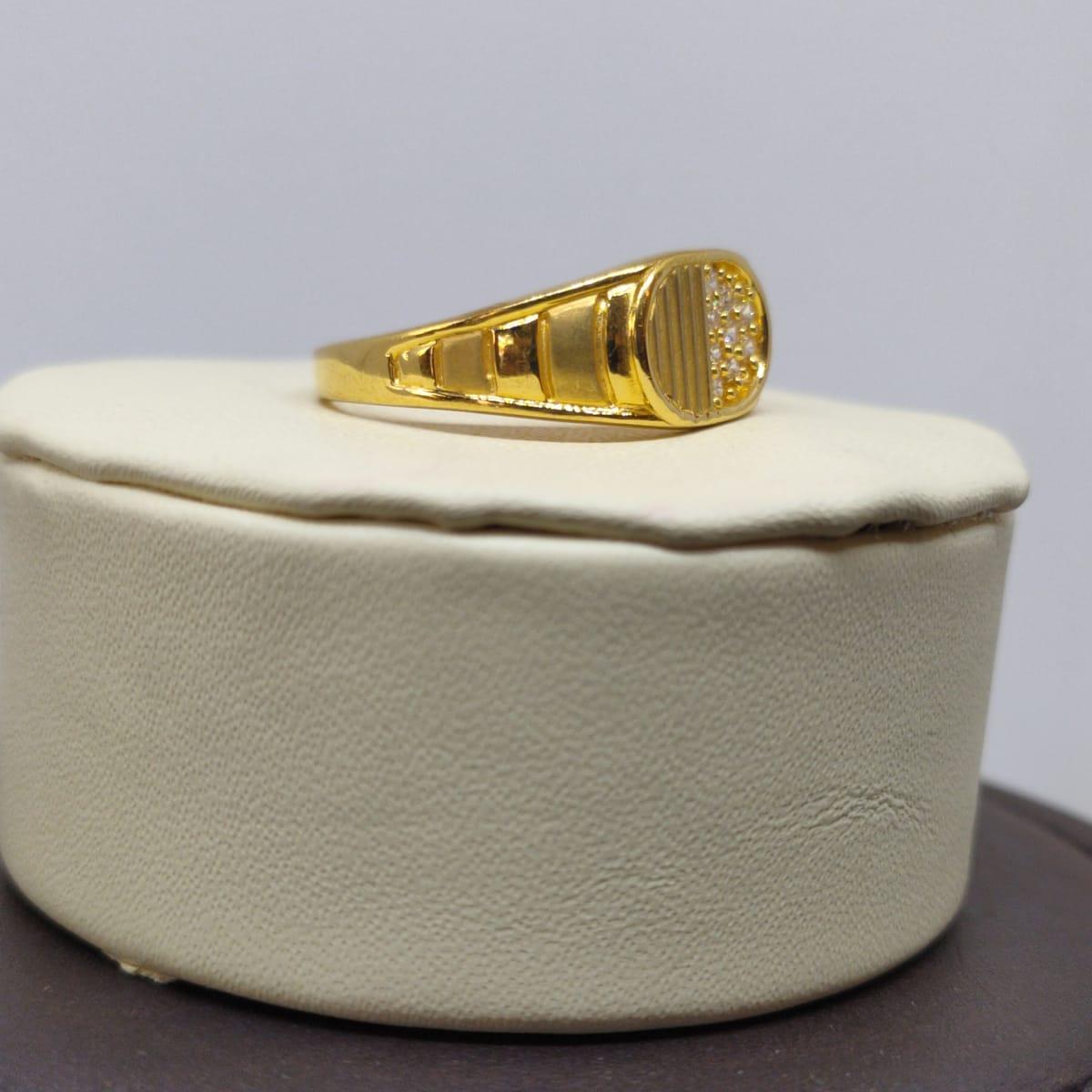 Chandavarman Cz Ring