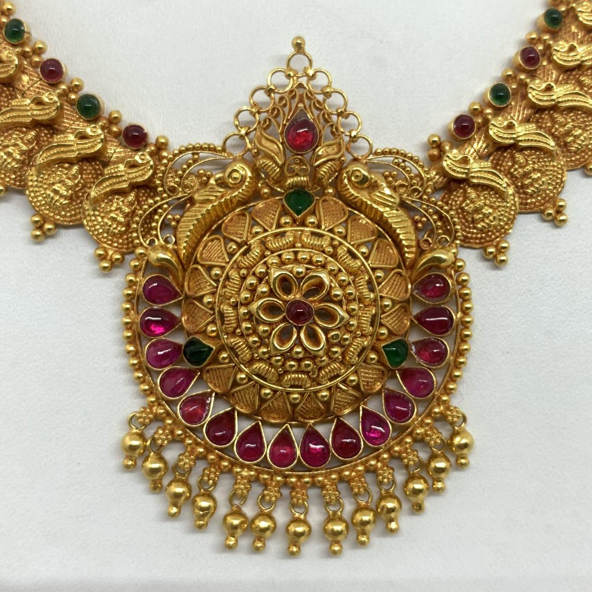 Peacock Designer Necklace
