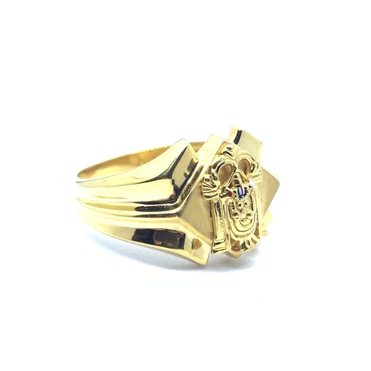 Plain Balaji Ring