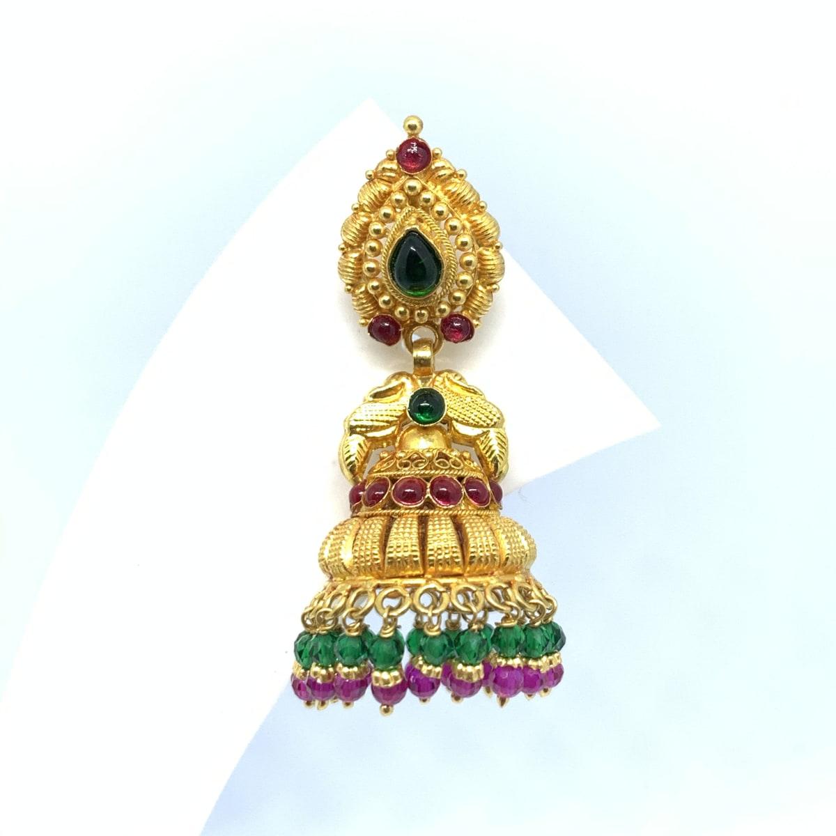 Gold Jhumka