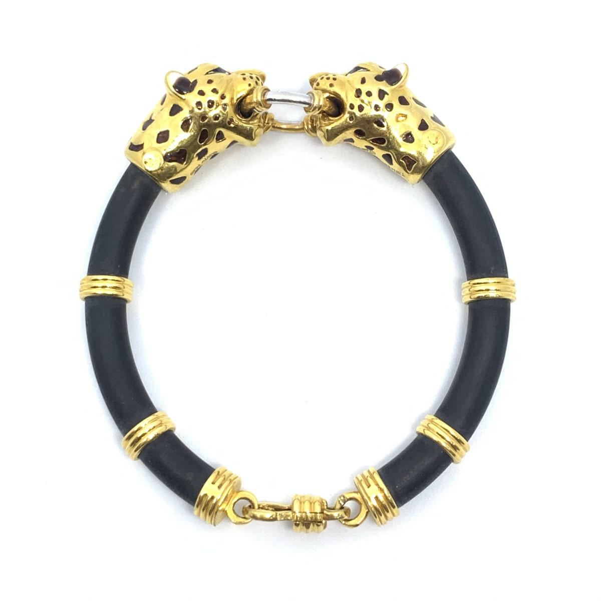Leopard Gold Kada