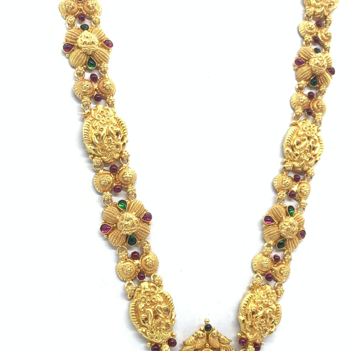 Lakshmi Long Gold Haram