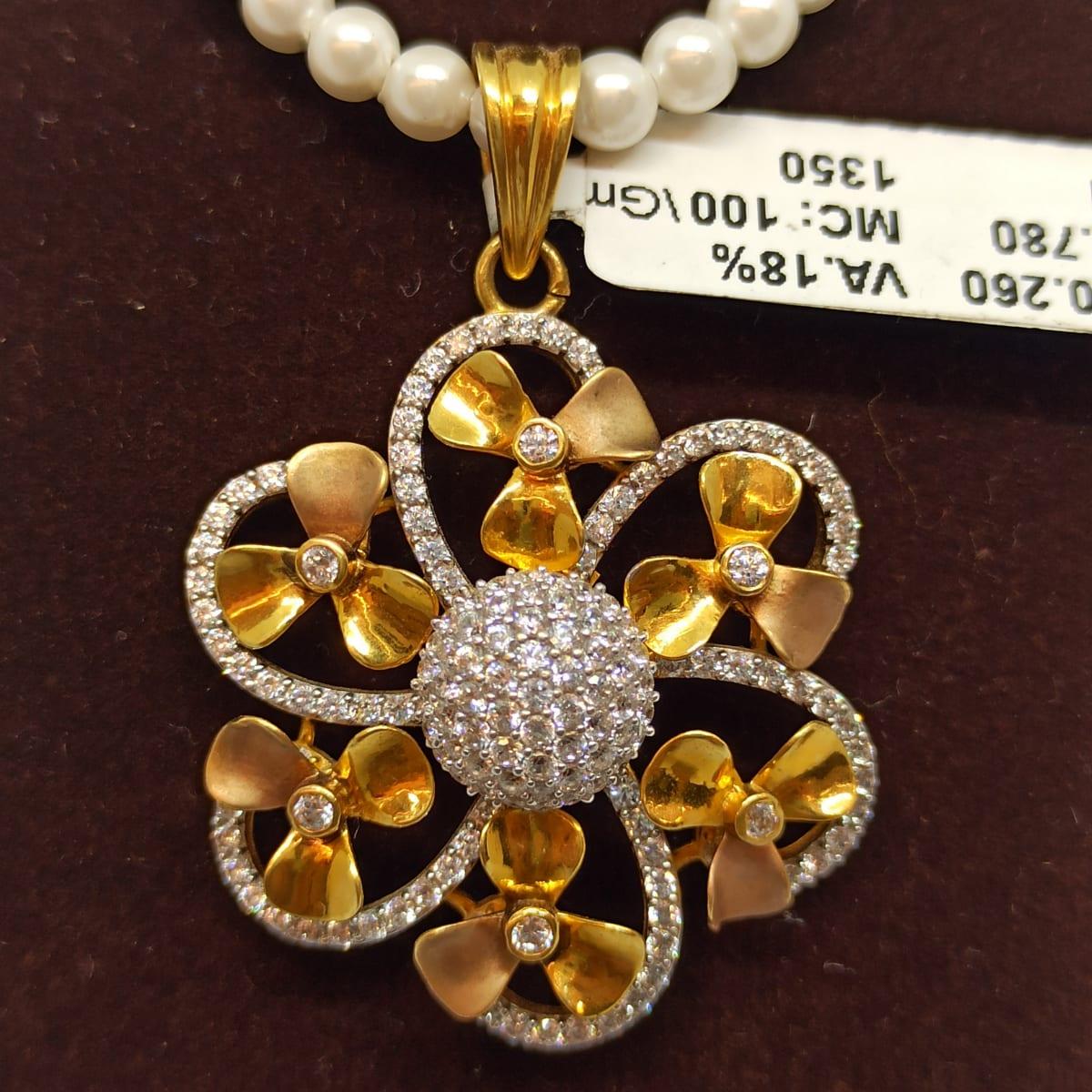 Flower Moti Necklace