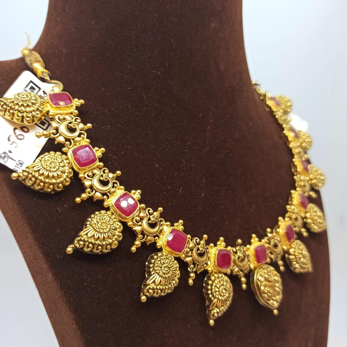 Antique Gemstone Necklace