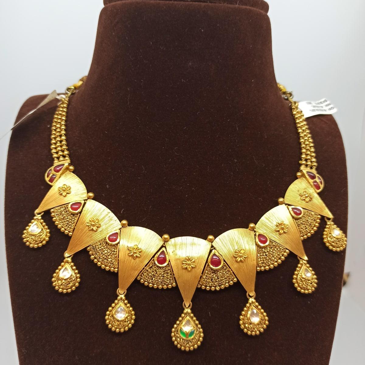 Antique Colourstone Necklace