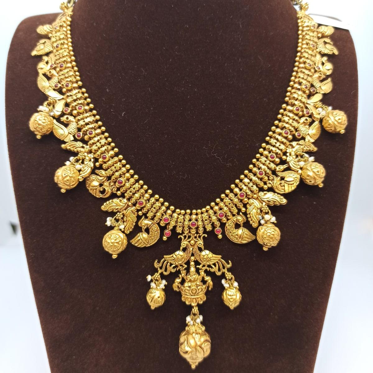 Pecock Antique Necklace