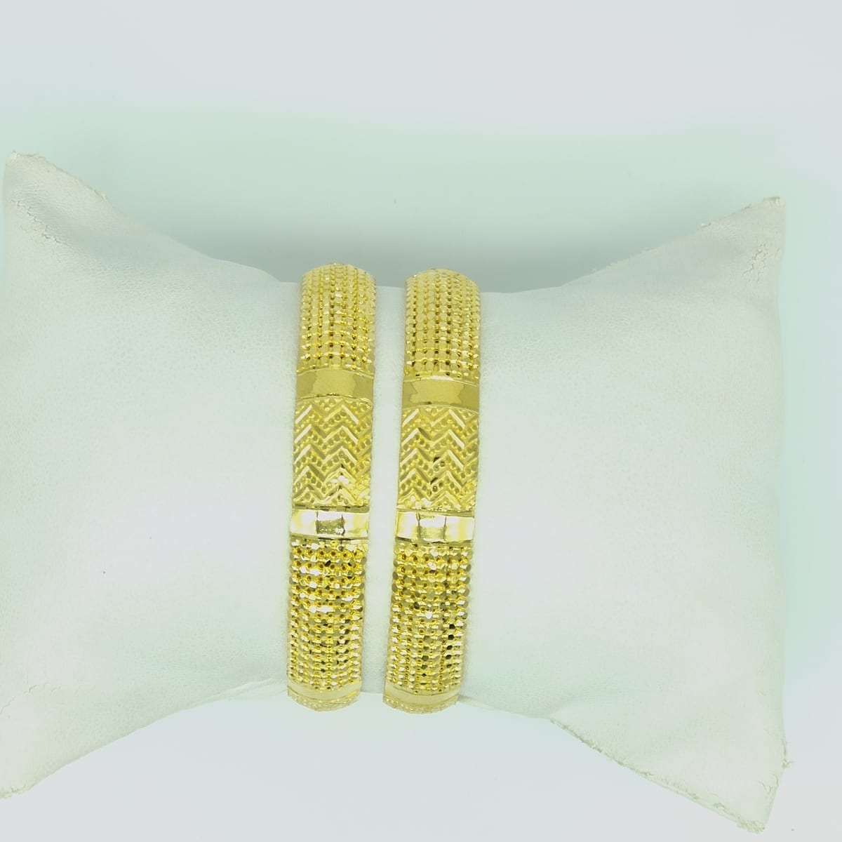 Gold Bangles  Top Design For Ladies - 2pcs