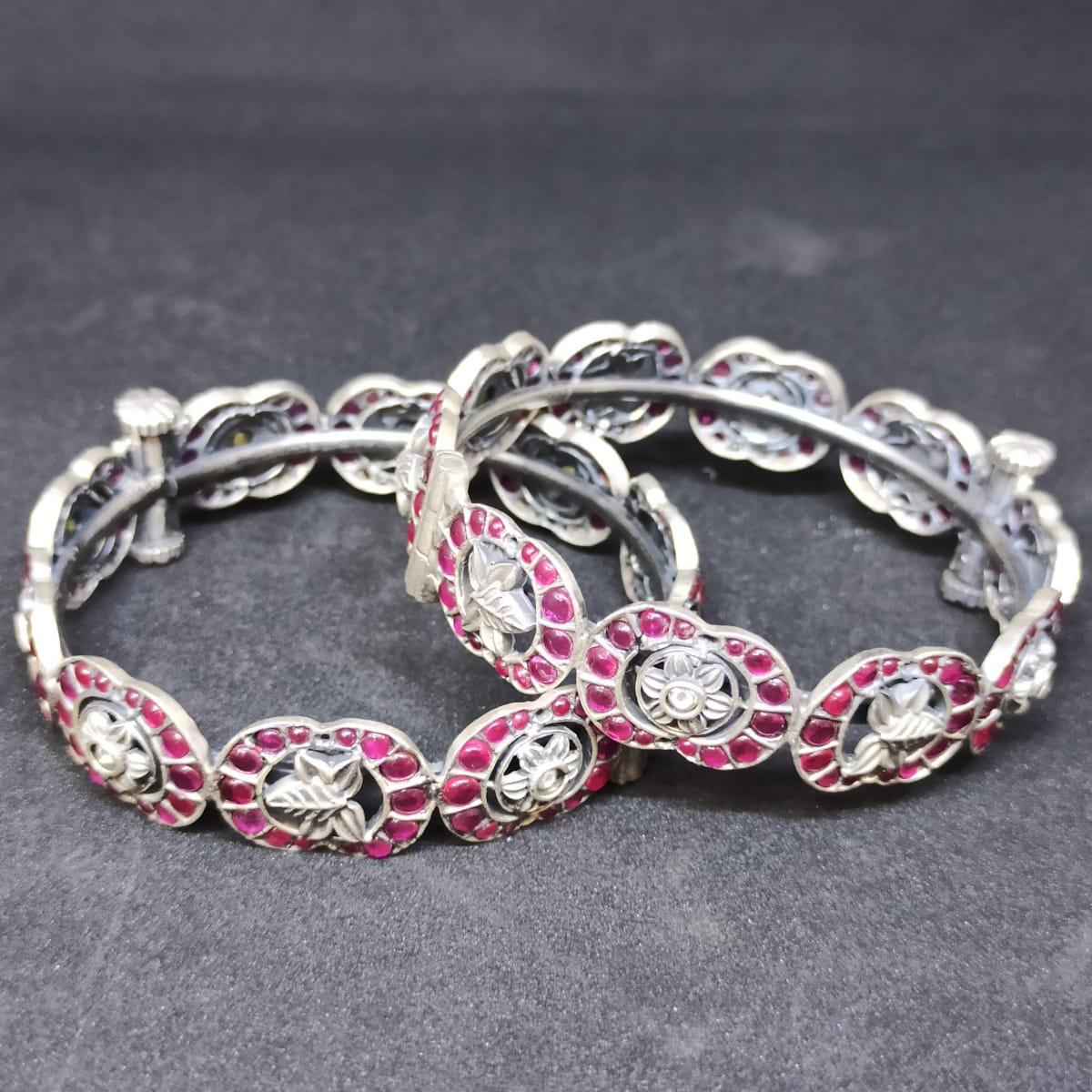 Pink Stone Bangle
